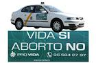 TAXIS CONTRA EL ABORTO EN SEVILLA
