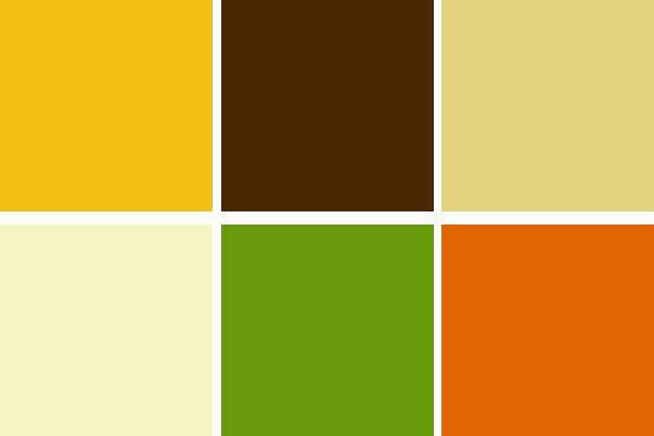 The main three colors i want to focus on are a deep mustard yellow