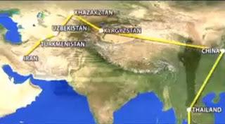 Rute Perjalanan Toyota Fortuner dari Indonesia - Iran