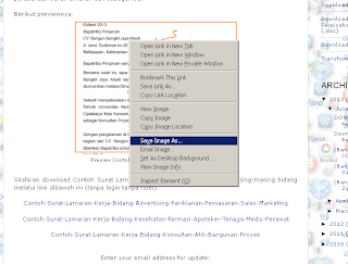Bagaimana cara mudah dan cepat gambar jpg jpeg png tiff menggunakan Mozilla Firefox terbaru