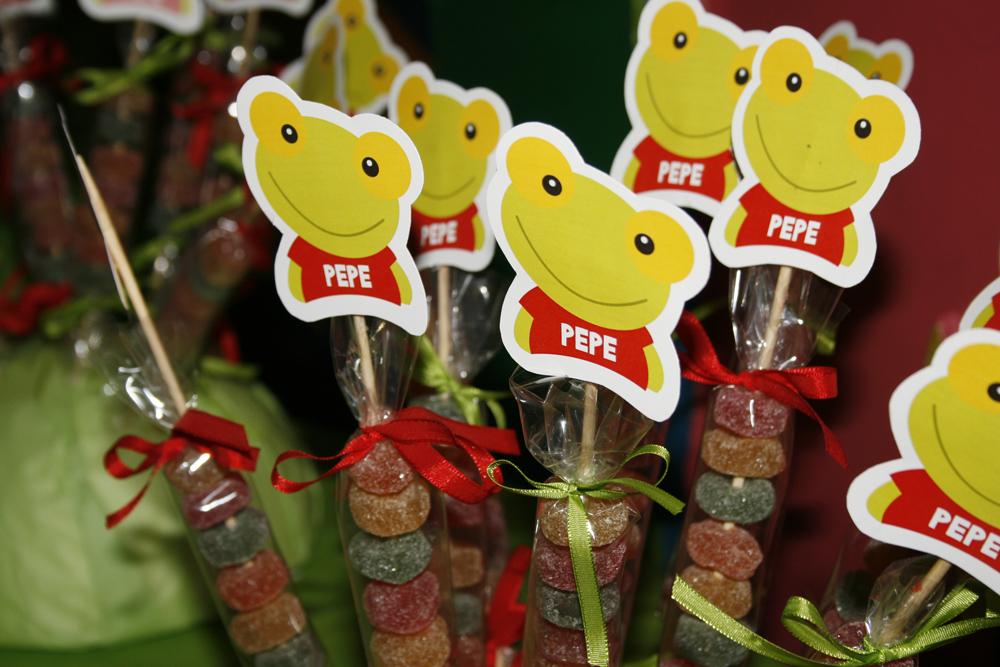 Pipirú: Mesa Temática Sapo Pepe