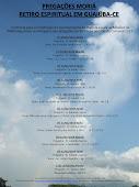Lista de filmagens em DVDs do Retiro Espiritual em Guaiúba-Ce