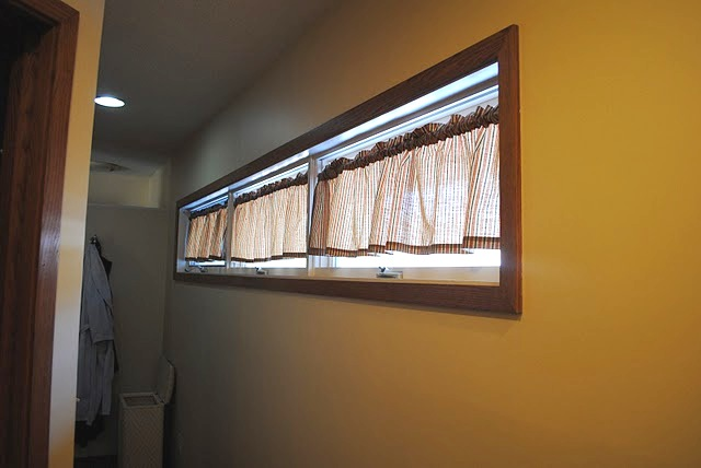 The Boatwright Family: Master Bath Windows - Finally a Solution!