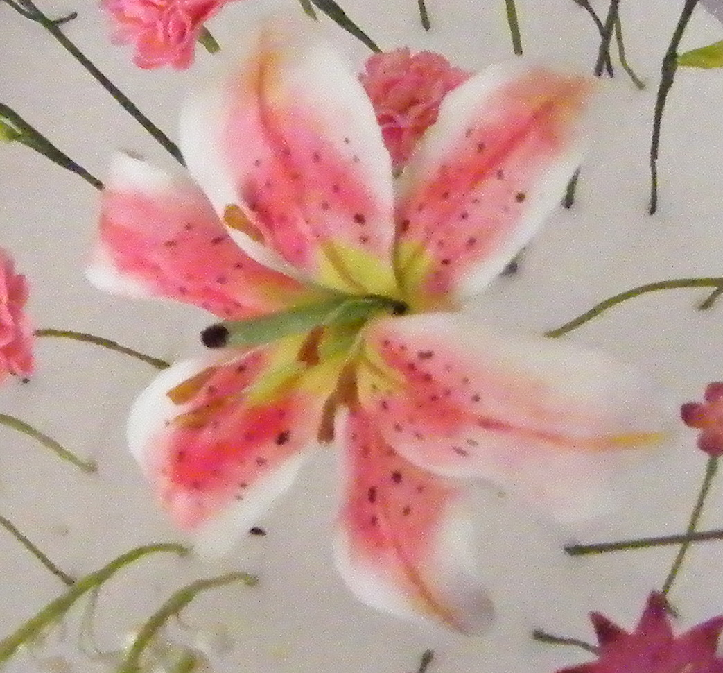 Heartsong Cakes And Crafts Stargazer Lily Tutorial