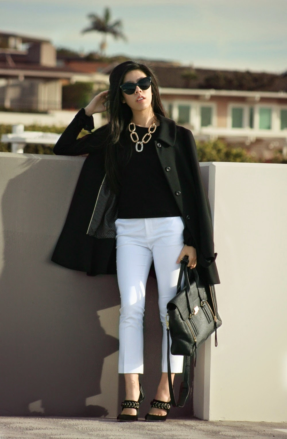 Business Casual - Women's Black and White