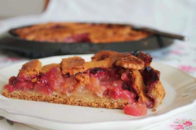 Tarta de manzana_frambuesas_apple pie_raspberry_tarta americana