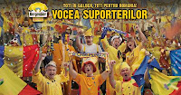 Toti in galben, toti pentru Romania!
