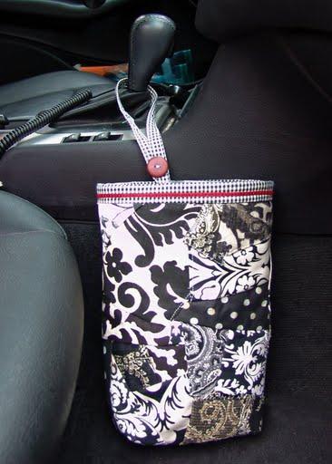 Tutorial For My Car Trash Bags