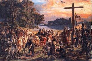 Zaprowadzenie Chrześcijaństwa - Jan Matejko