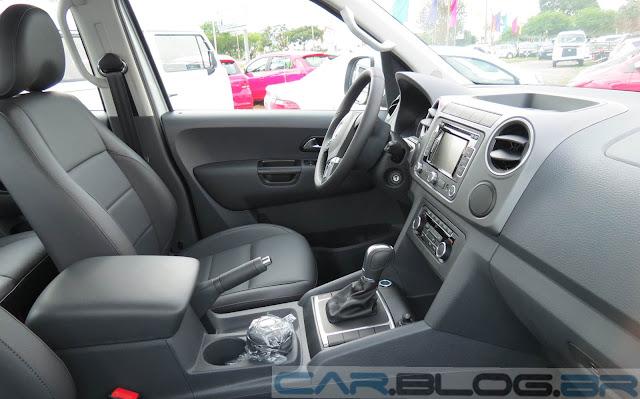 VW Amarok 2014 Automática  - interior