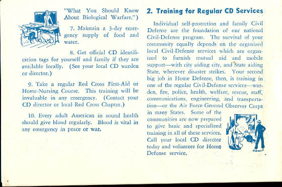 Civil Defense Program Of The 1950S
