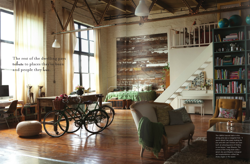 Bayou bohemian bespoke for Decoracion tipo loft