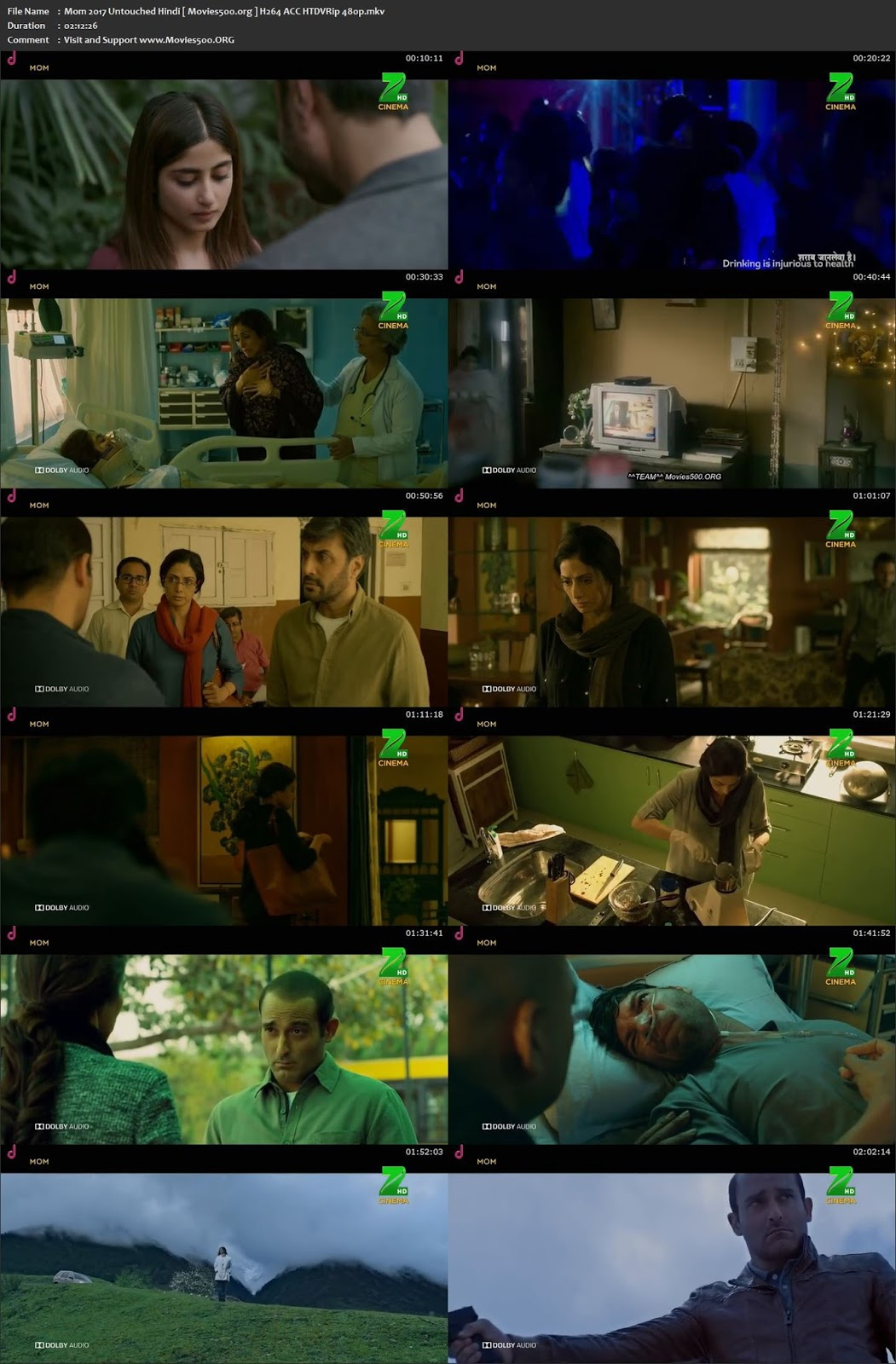 Mom 2017 Full Movie 200MB HEVC 480p Mobile at softwaresonly.com