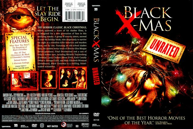 Black Christmas – Latino, Inglés