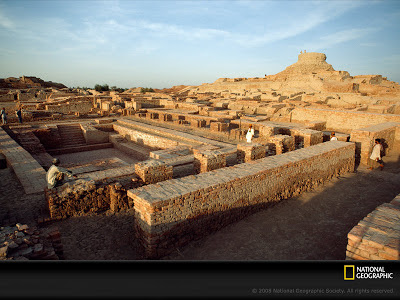 Harappan Mehenjo-Daro ancient city National Geographic