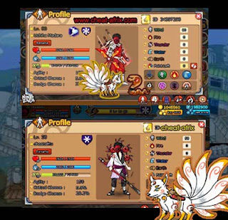 Jual Char Emblem Usher Full Gear + Pet Kyubi