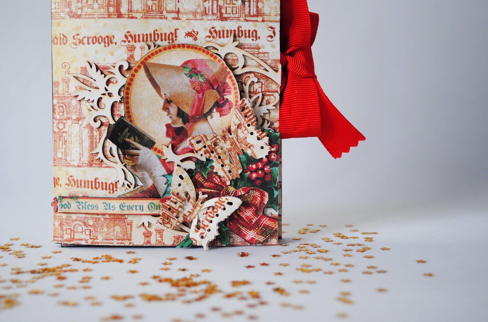 Minialbum Navidad para regalar, de Scrapamundi