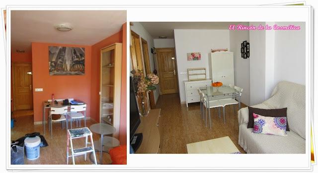 El rinc n de la cosm tica decoraci n el antes y despu s de mi casa de alquiler - Decoracion de casas antes y despues ...