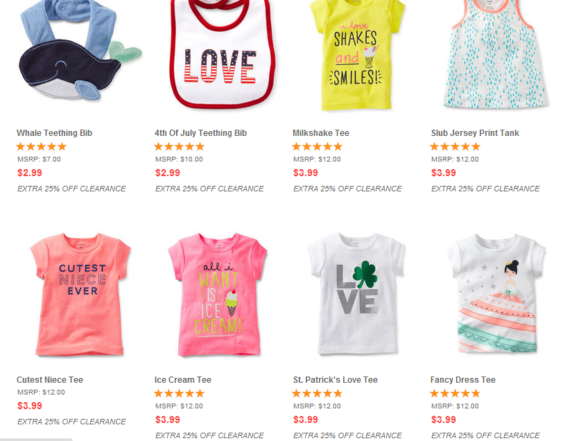 Cheap baby clothing sale