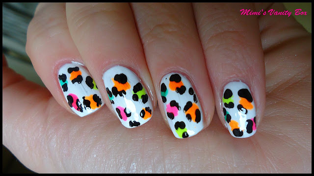 Crazy nail designs colorful