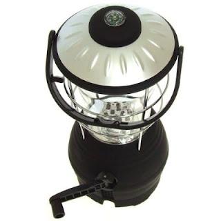 Wind up 12 LED camping lantern, Image