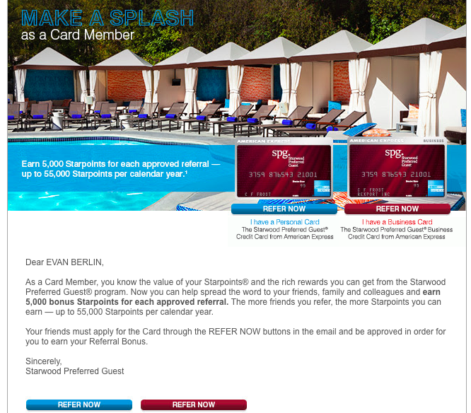 All The Right Points: Starwood Preferred Guest Amex