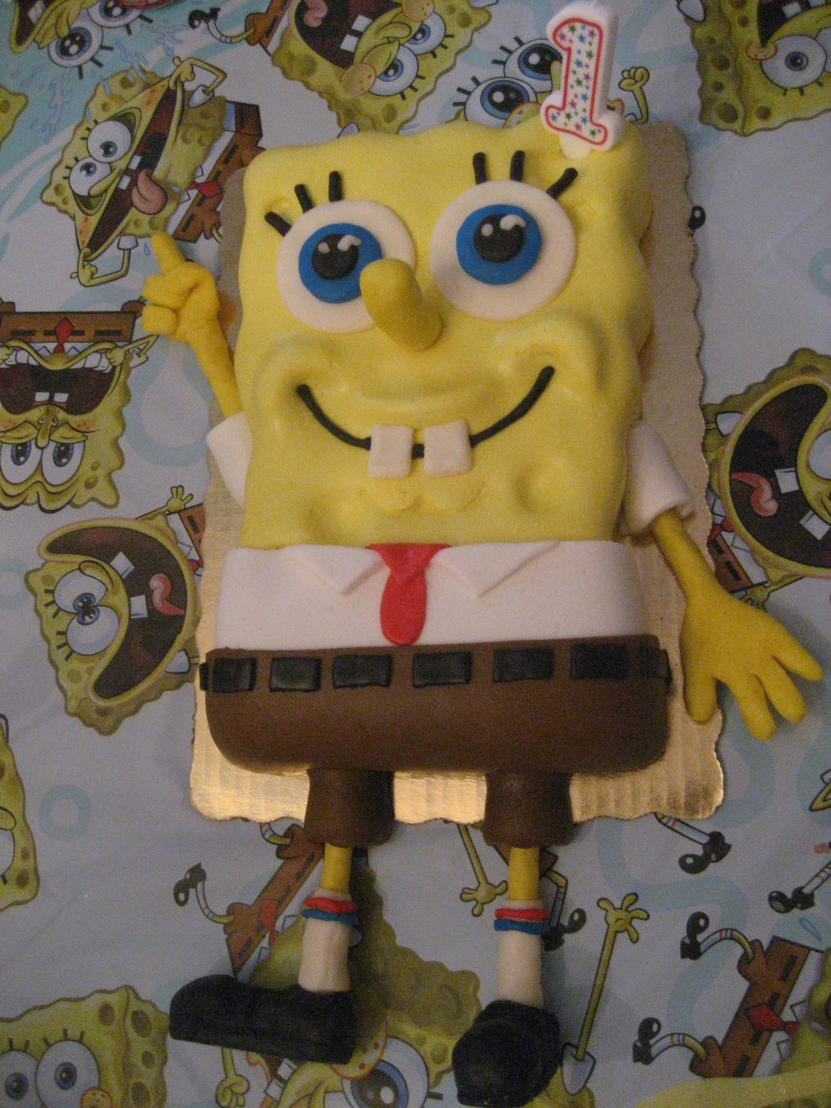 wish i had a witty comment here spongebob u0026 patrick cake