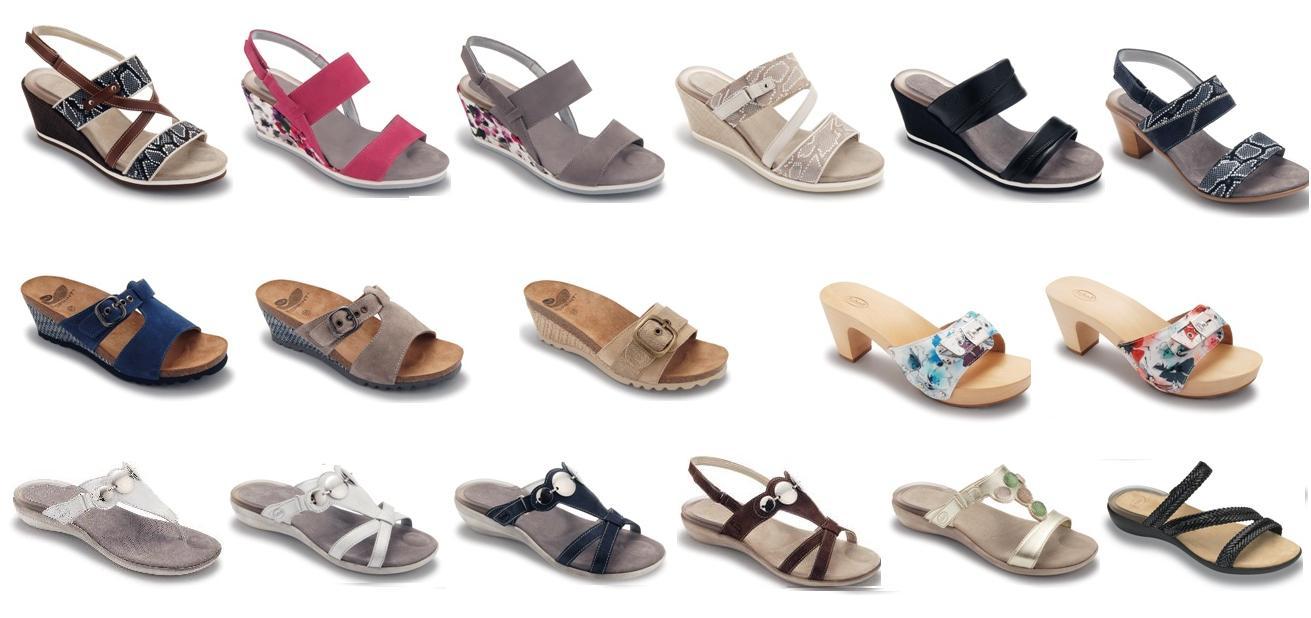 et les chaussures Scholl de la collection Printemps / Eté 2012 à ,50%