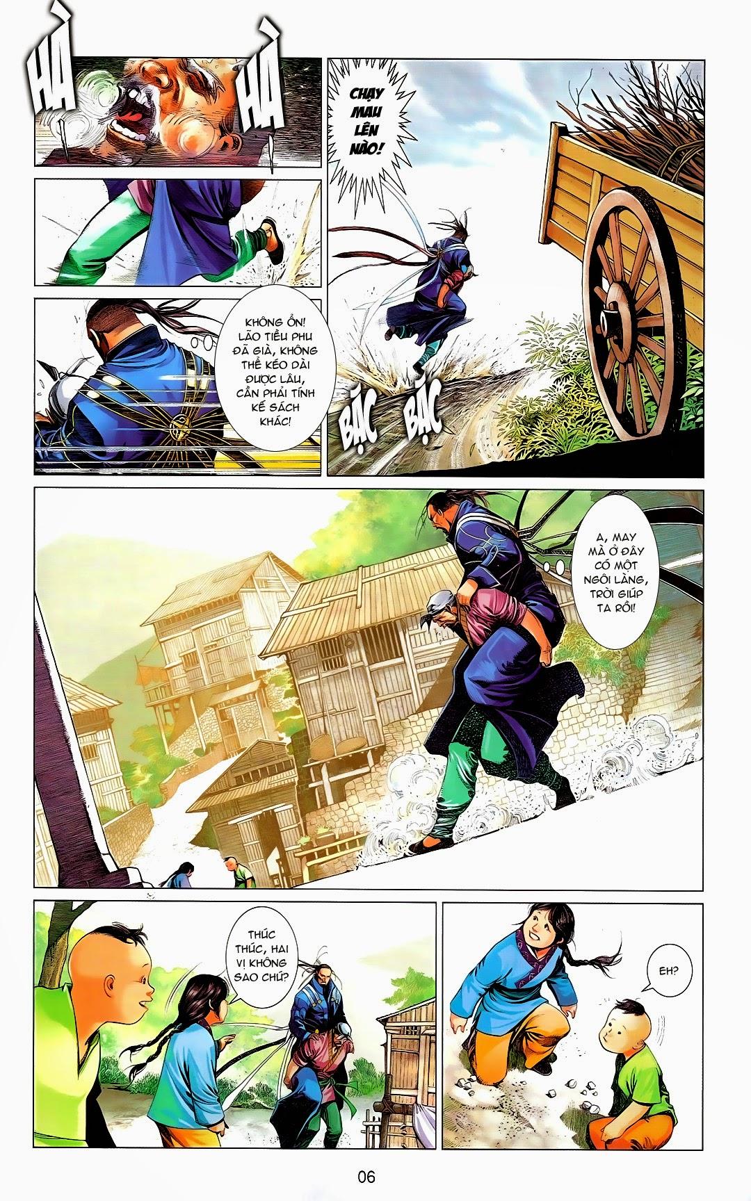 Phong Vân chap 669 Trang 6 - Mangak.info