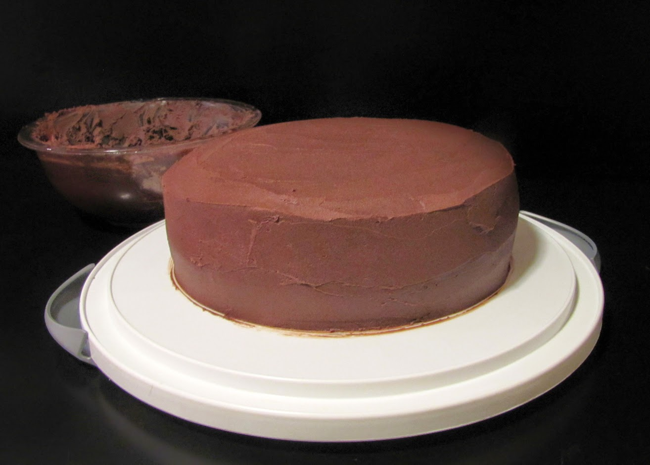 ... in Here: Chocolate Stout Layer Cake with Chocolate Frosting, Take 2