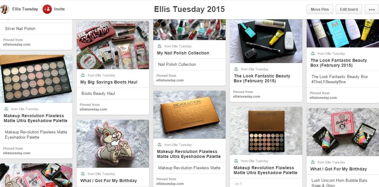 Beauty Blogger Pinterest