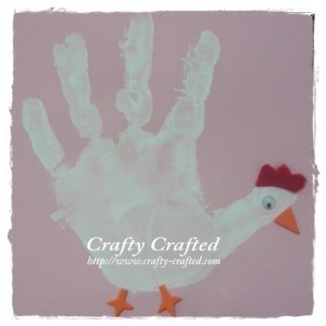 Handprint Hen