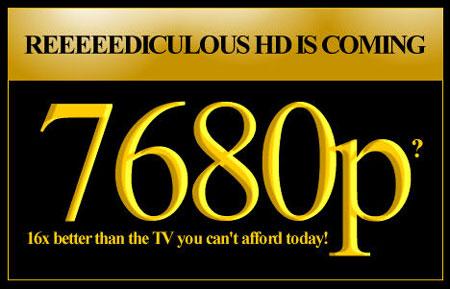8K: la Ultra Alta Definición, 16 veces superior al HD