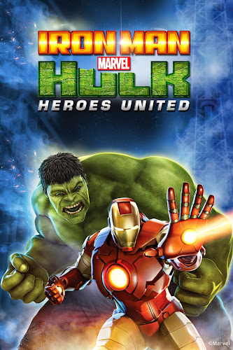 Iron Man And Hulk-Heroes United (BRRip HD Ingles Subtitulada) (2013)