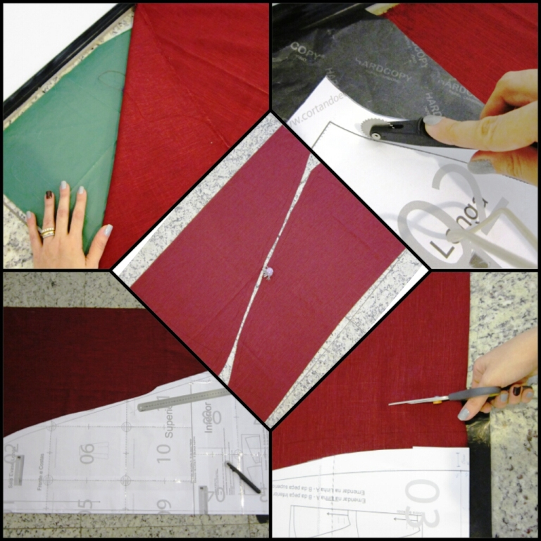 moda estilo costura rubi