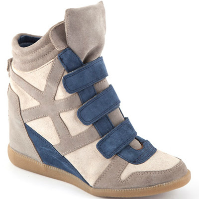 zapatillas deportivas con cuña Sneakers con cuña interior