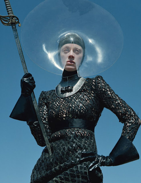 "W Magazine September 2012 ""The Dame Of Thrones"""
