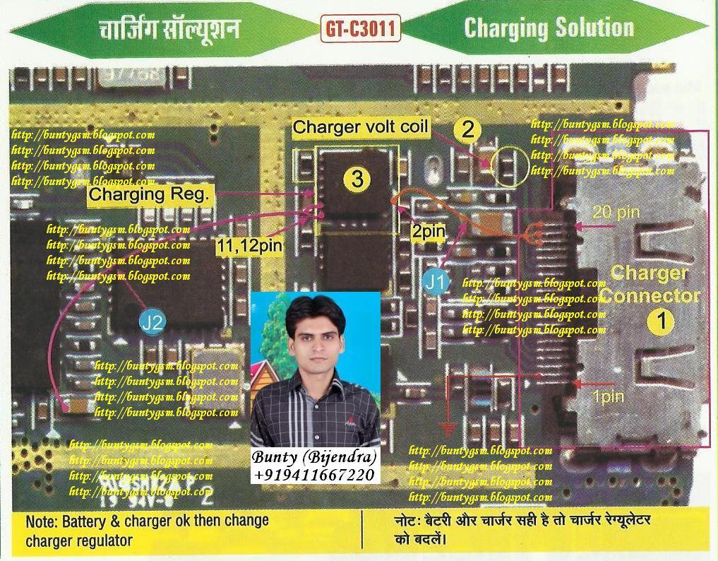 Samsung C3011 Charging Solution By BuntyGSM Mobile Repairing