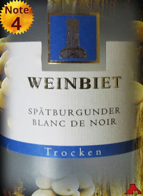 Winzergenossenschaft Weinbiet Blanc de Noir Spätburgunder Pfalz 2014
