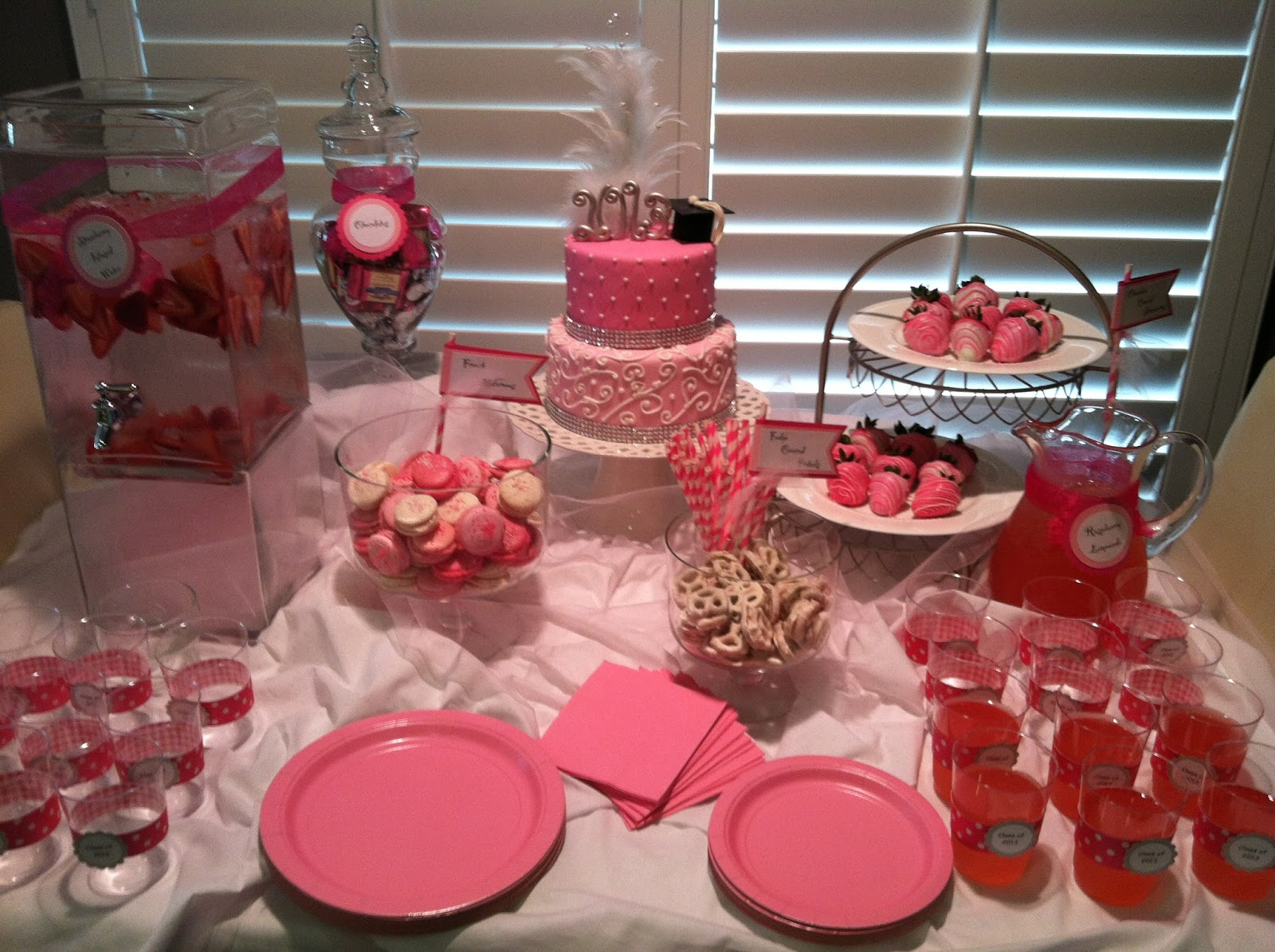 A Little Something Sweet: Pink Graduation Party!