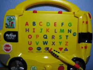 leapfrog my first leappad alphabet bus games