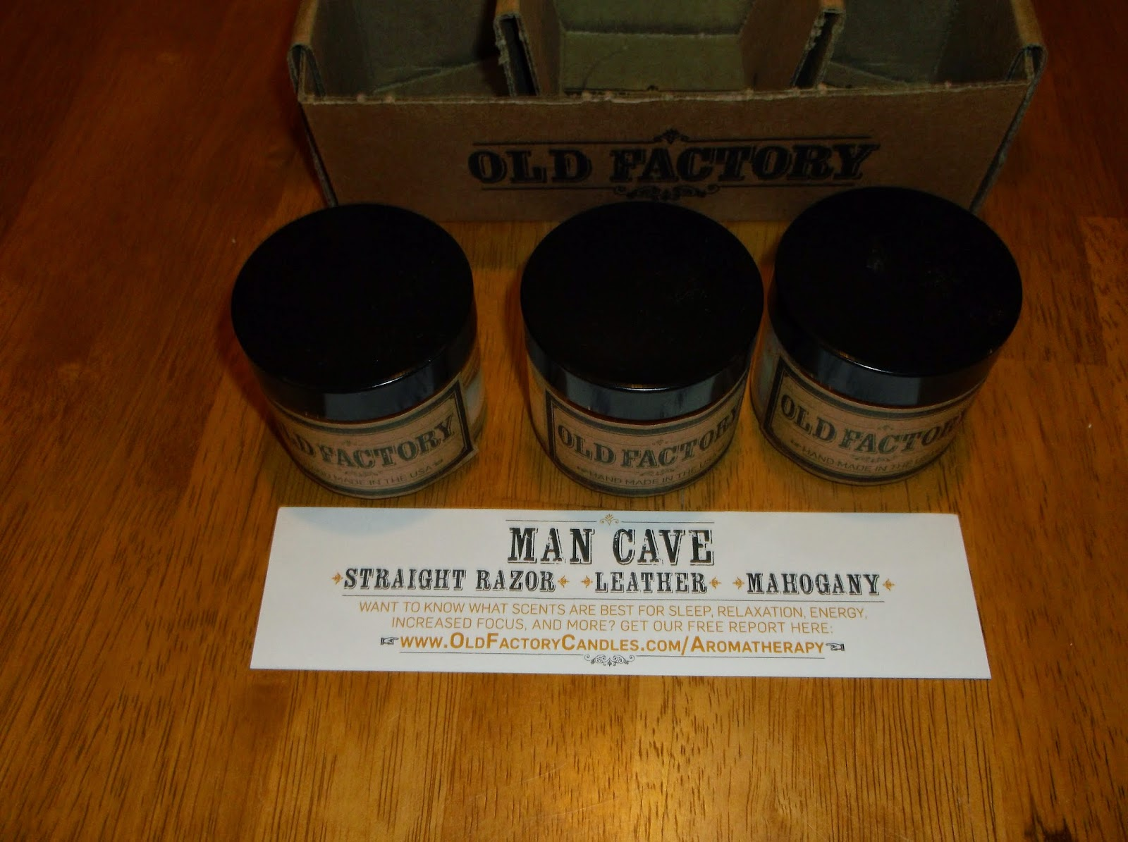 Man Cave Barber Hours : Missys product reviews old factory candle review holiday
