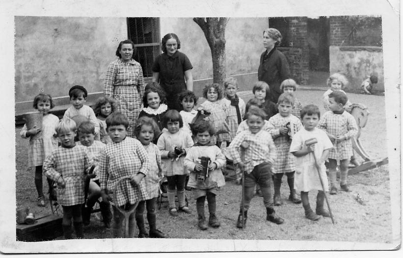 Anne Bizeau à l'école de Massiac