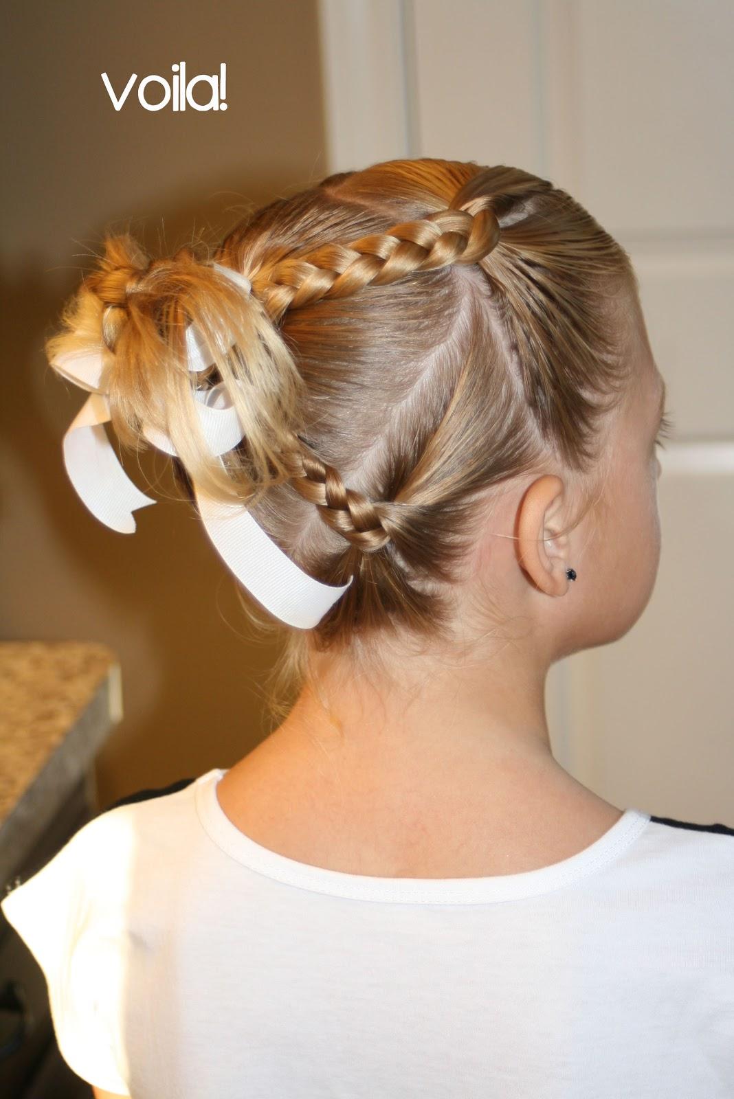 Выпускные причёски для девочек 4 класс
