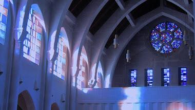 light in the Abbey Church