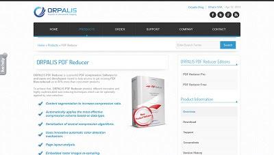 ORPALIS PDF Reducer, PDF