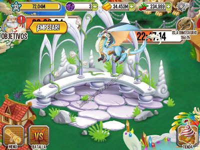 imagen del nuevo dragon puro en dragon city ios
