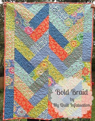 My Quilt Infatuation Bold Braid Quilt