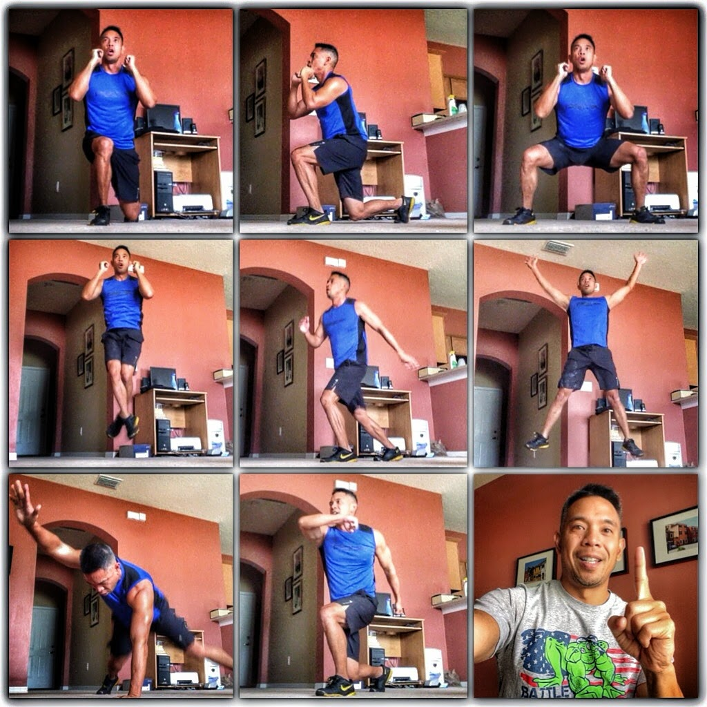 Insanity Max 30 Friday Fight Round 2 - Insanity Max 30 Workout