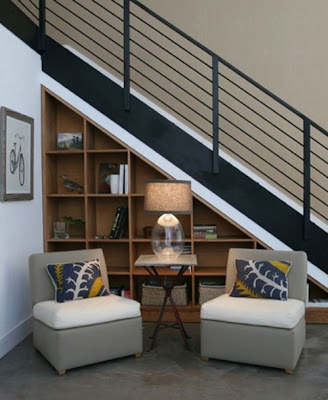 Basement stairway ideas home design ideas decorating for Basement under garage